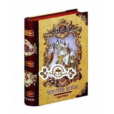 Чай BASILUR Winter Book mini Том 2 - Зимняя Книга мини ж/б