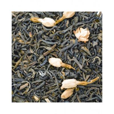 Цветок Жасмина зеленый ароматизированный чай Світ чаю