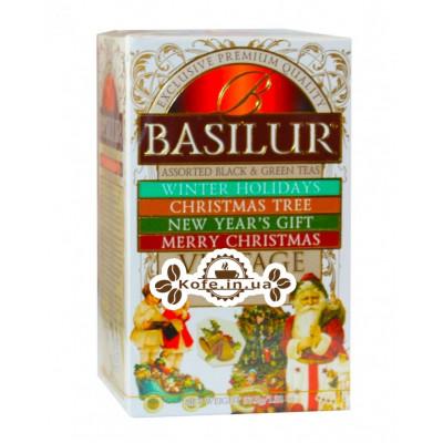 Чай BASILUR Assorted Vintage Асорті - Вінтаж 20 х 2 г (4792252934047)