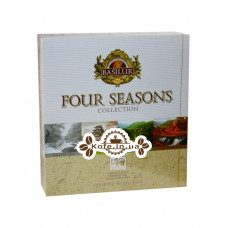 Чай BASILUR Assorted Four Seasons Ассорти - Времена Года 40 х 2 г (4792252934726)