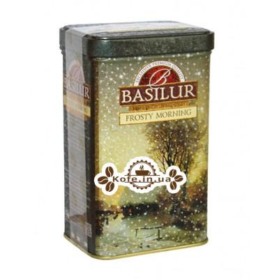 Чай BASILUR Frosty Morning Морозний Ранок - Морозна 85 г ж / б (4792252932074)