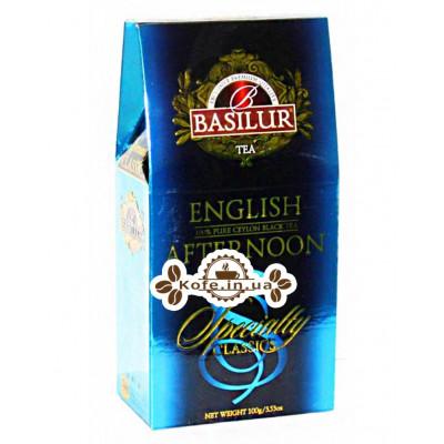 Чай BASILUR English Afternoon Английский Полдник - Избранная Классика 100 г к/п (4792252920682)