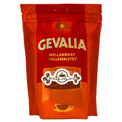 Кава GEVALIA Mellan Rost Colombia розчинна 200 г економ. пак. (8711000538081)