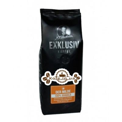 Кава JJ DARBOVEN Exklusiv Kaffee der Milde зернова 250 г (4006581019666)
