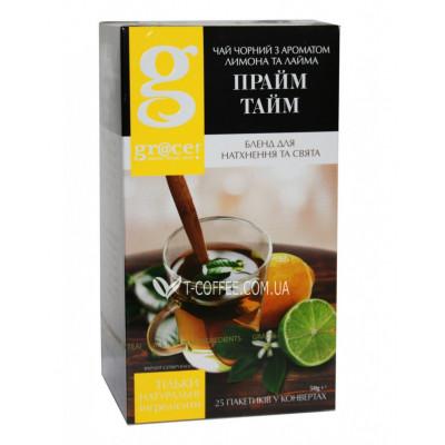 Чай GRACE! Prime Time Прайм Тайм 25 х 2 г (5060207697835)