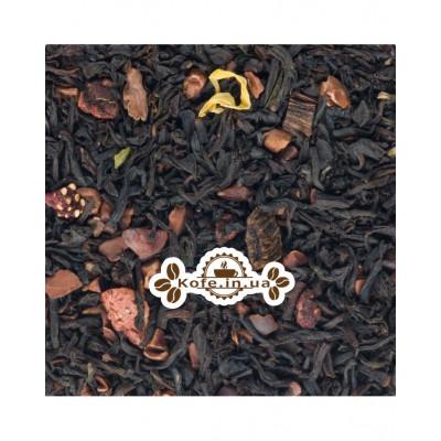 Полуниця з Ароматом Шоколаду чорний ароматизований чай Чайна Країна