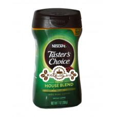 Кава Nescafe Taster's Choice Decaf House Blend без кофеїну розчинна 198 г