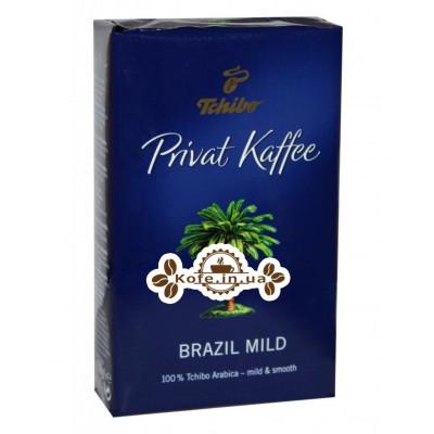 Кофе Tchibo Privat Kaffee Brazil Mild молотый 250 г (4046234659733)