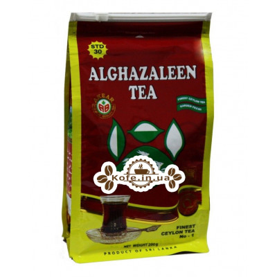 Чай AKBAR Do Ghazal Pure Ceylon Tea 200 г эконом. пак. (4796015723541)