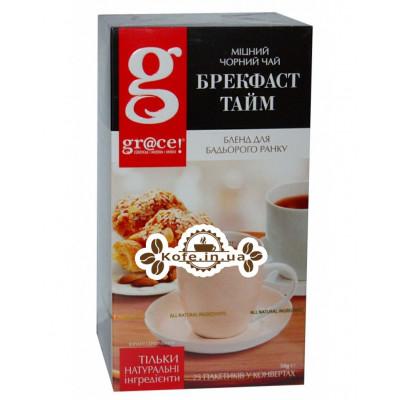 Чай GRACE! Breakfast Time Время Завтрака 25 х 2 г (5060207690683)