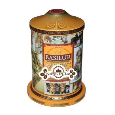 Чай BASILUR Музыкальная Шкатулка Pets Любимцы - Праздничная 100 г ж/б (4792252923973)