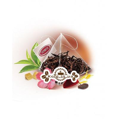 Рецепт Клеопатри чорний ароматизований чай Османтус 50 х 2 г