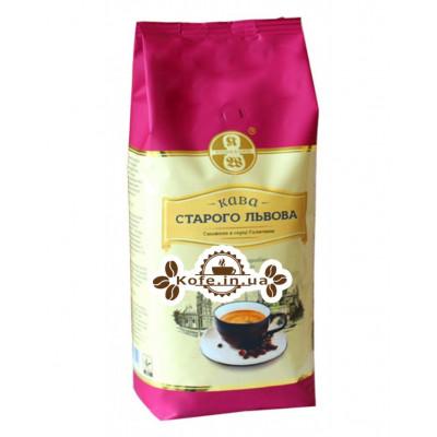 Кава Кава Старого Львова люксових зернова 1 кг (4820000371599)