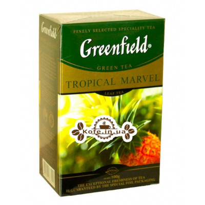 Чай Greenfield Tropical Marvel Ананас 100 г к/п (4823096802244)