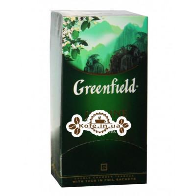 Чай Greenfield Jasmine Dream Зелений з жасмином 25 х 2 г (4823096801162)