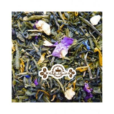 Ривьера зеленый ароматизированный чай Чайна Країна