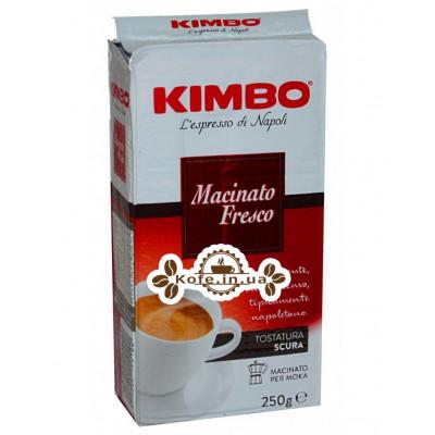 Кофе KIMBO Macinato Fresco молотый 250 г (8002200155100)