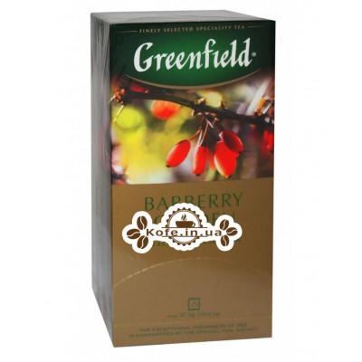 Чай Greenfield Barberry Garden Барбарис 25 х 1,5 г (4823096804866)