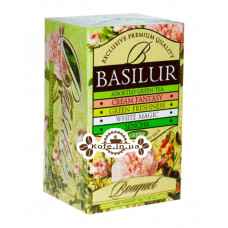 Чай BASILUR Assorted Green Tea Ассорти - Букет 20 х 2 г (4792252001121)