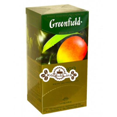 Чай Greenfield Mango Delight Манго 25 х 1,8 г (4823096802602)