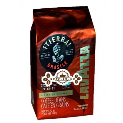 Кофе Lavazza Tierra Brazil 100% Arabica Intense зерновой 1 кг