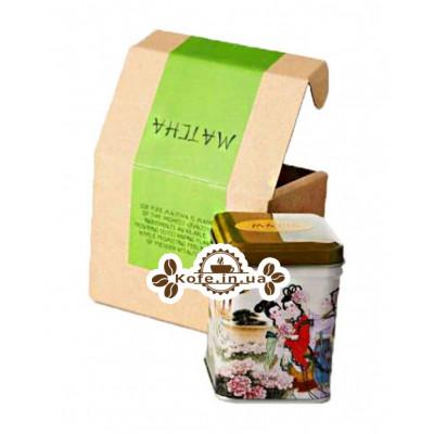 Матчу Зелений зелений елітний чай Чайна Країна 50 г ж / б
