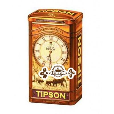 Чай Tipson Ceylon №1 OPA Цейлонский 150 г ж/б