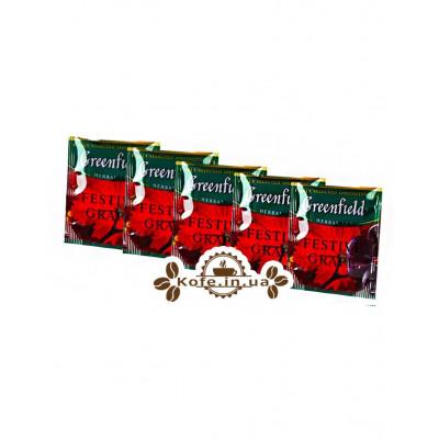 Чай Greenfield Festive Grape Виноград 100 х 2 г эконом. упаковка