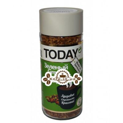 Кофе Today Green Coffee Зеленый Кофе растворимый 95 г ст. б. (5060300570271)