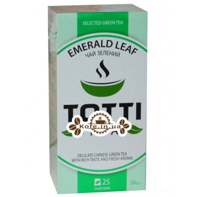 Чай Totti Emerald Leaf Смарагдовий Лист 25 x 2 г (8719189233223)