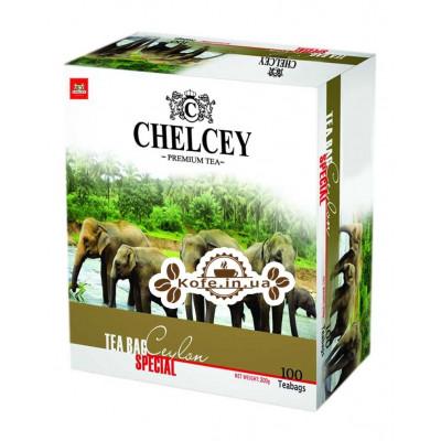 Чай CHELCEY Ceylon Special Цейлонський Особливий 100 х 2 г