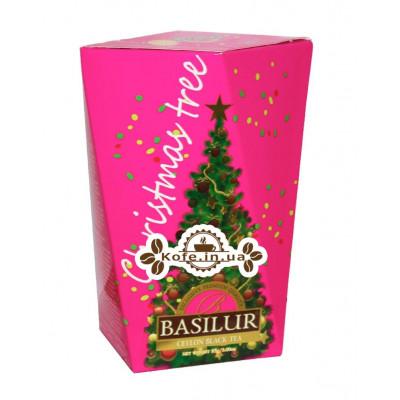 Чай BASILUR Елка Фиолетовая - Рождественская Ель 85 г к/п (7792112932715)