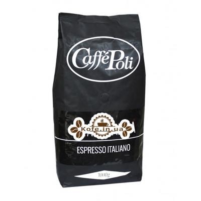 Кава Poli Total Arabica зернова 1 кг (8019650000447)