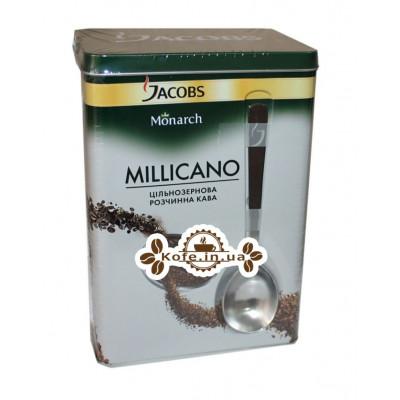Кофе Jacobs Monarch Millicano 140 г цельнозерновой растворимый ж/б