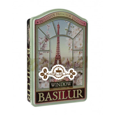 Чай BASILUR Paris Париж - Окна 100 г ж/б (4792252919129)