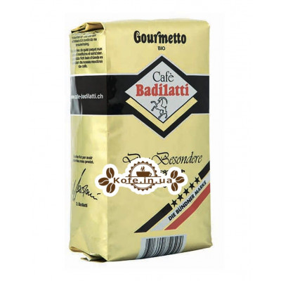 Кофе Badilatti Gourmetto BIO 500 г зерновой