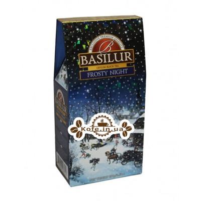 Чай BASILUR Frosty Night Морозная Ночь - Морозная 100 г к/п (4792252928145)
