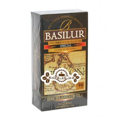 Чай BASILUR Special Особливий - Чайний Острів 25 х 1,5 г (4792252917217)