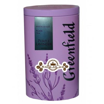 Чай Greenfield Purple Lavender Лаванда 100 г ж/б (4823096805931)