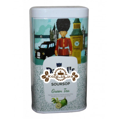 Чай Daniel's Soursop Green Tea 100 г ж/б (4796017690582)