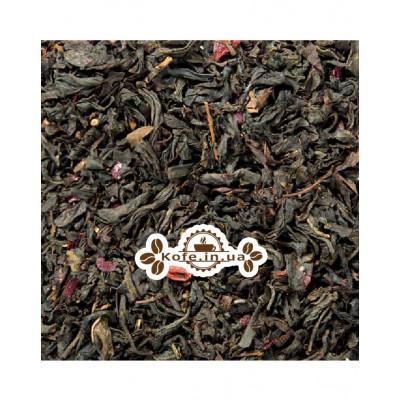 Малина-Акаі чорний ароматизований чай Світ чаю