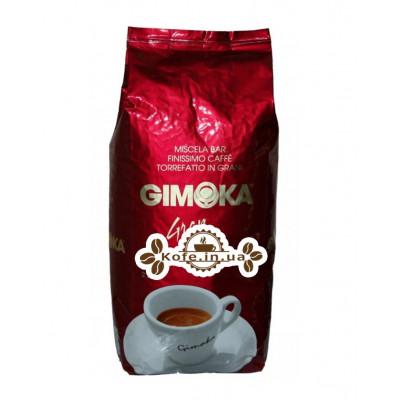 Кофе GIMOKA Gran Bar зерновой 1 кг (8003012000039)