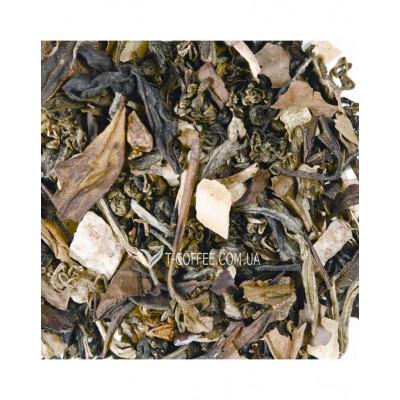 Таинственная Азия зеленый ароматизированный чай Світ чаю