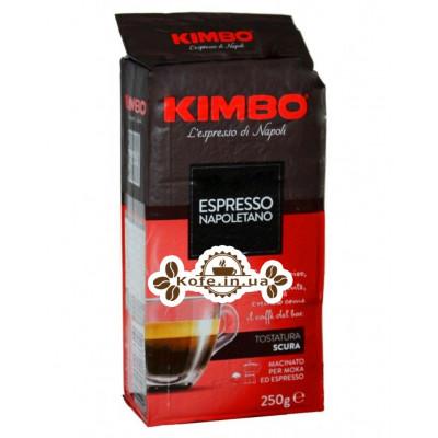 Кава KIMBO Espresso Napoletano мелена 250 г (8002200602116)