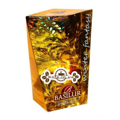 Чай BASILUR Winter Dream Зимова Мрія - Зимова Фантазія 85 г к / п (4792252932777)