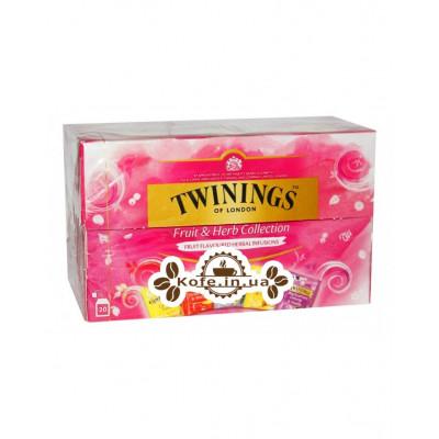 Чай TWININGS Collection Fruit Herb Ассорти Фрукты Травы 20 х 1,5 г (070177174750)
