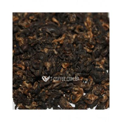 Золота Равлик чорний елітний чай Османтус