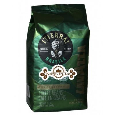Кава Lavazza Tierra Brazile Intense зернова 1 кг (8000070052802)