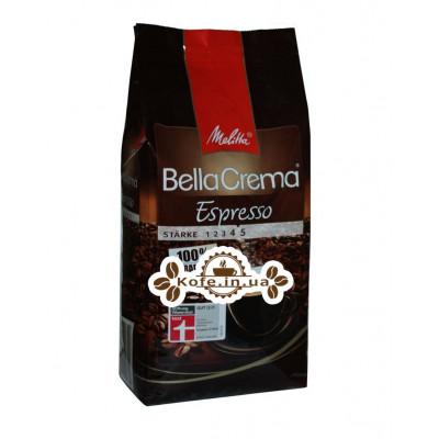 Кава Melitta Bella Crema Espresso зернова 1 кг (4002720008300)