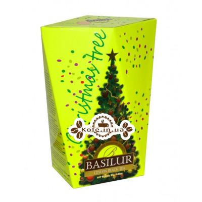 Чай BASILUR Ялинка Жовта - Різдвяна Ель 85 г к / п (4792252932708)